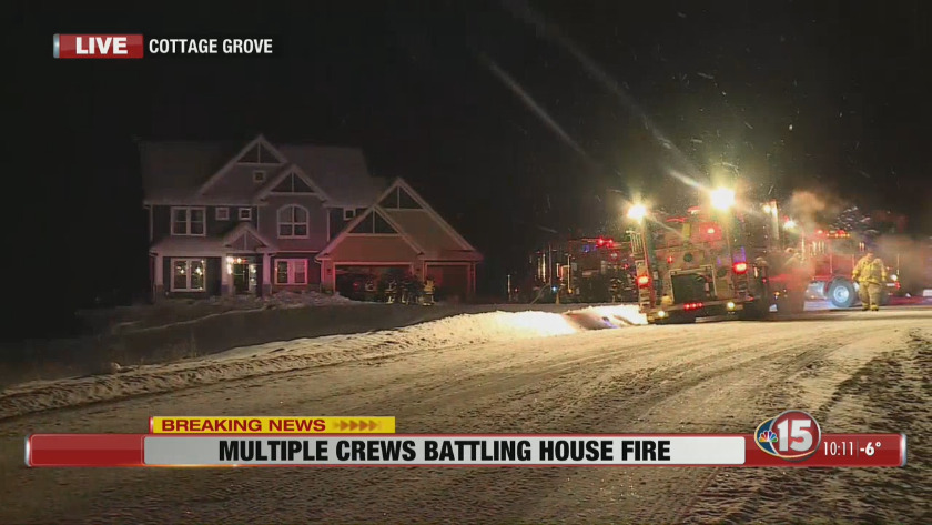 Superb Multiple Crews At Scene Of House Fire Near Cottage Grove Download Free Architecture Designs Rallybritishbridgeorg