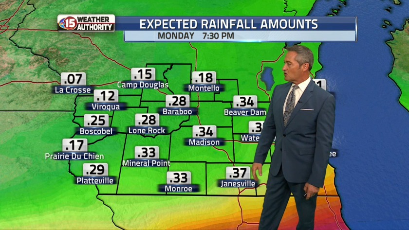 After Rains Fog Rolls Into Madison >> Rain Continues Through Tuesday Dense Fog Overnight