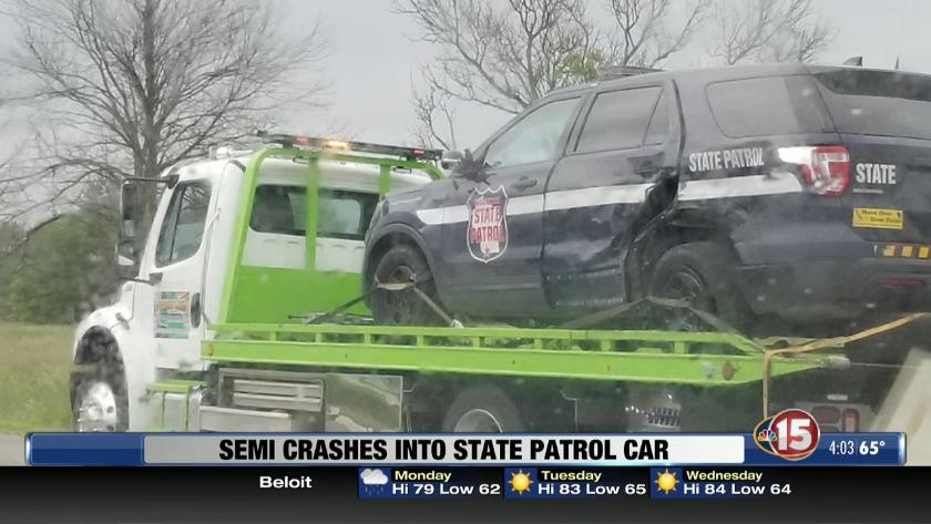 I 84 Semi Truck Crash Today