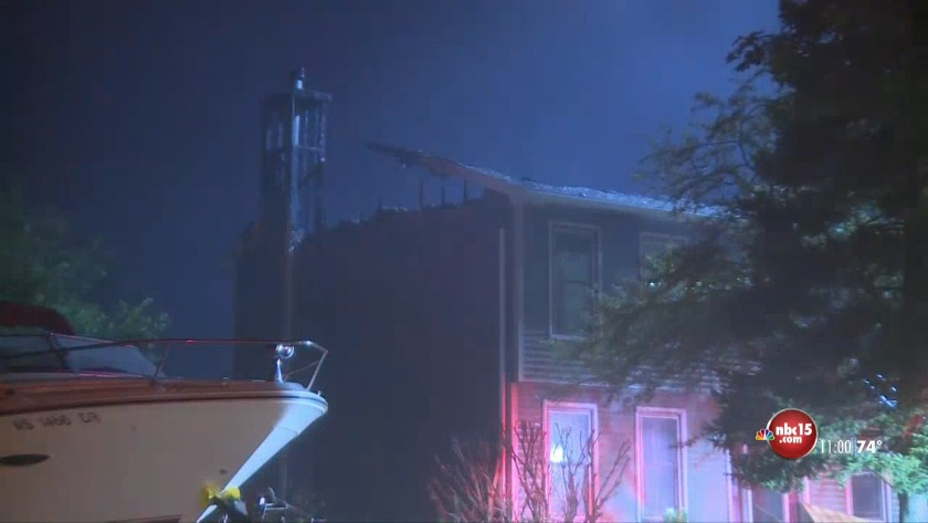 Crews fight fire after home reignites in Fitchburg