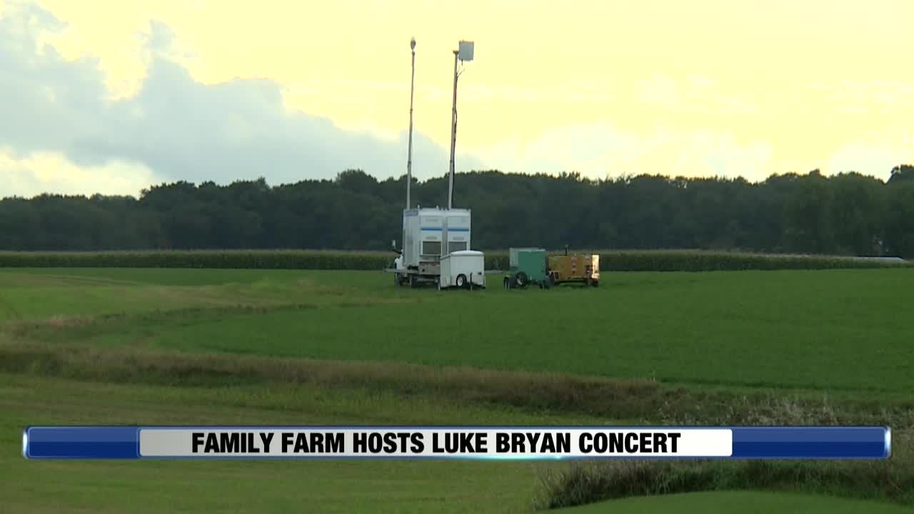 Sun Prairie Family Farm Holds Luke Bryan Concert