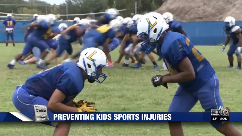 Ways to prevent sports injuries in kids