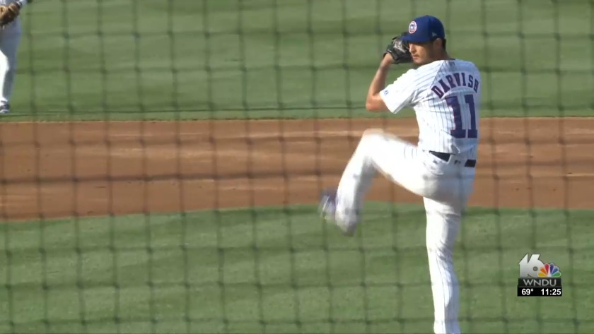 Yu Darvish Makes Rehab Start With Sb Cubs