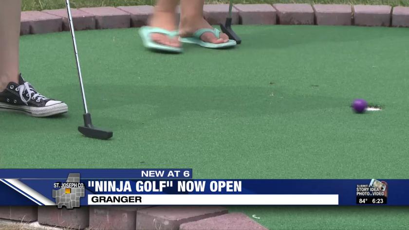 Ninja Golf mini-golf course opens in Granger on