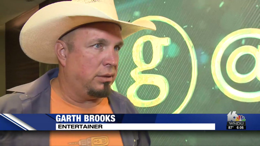 Garth Brooks visits Notre Dame Stadium ahead of October concert f24a0ea2991