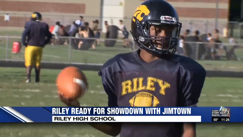 Riley Ready For Showdown With Jimtown