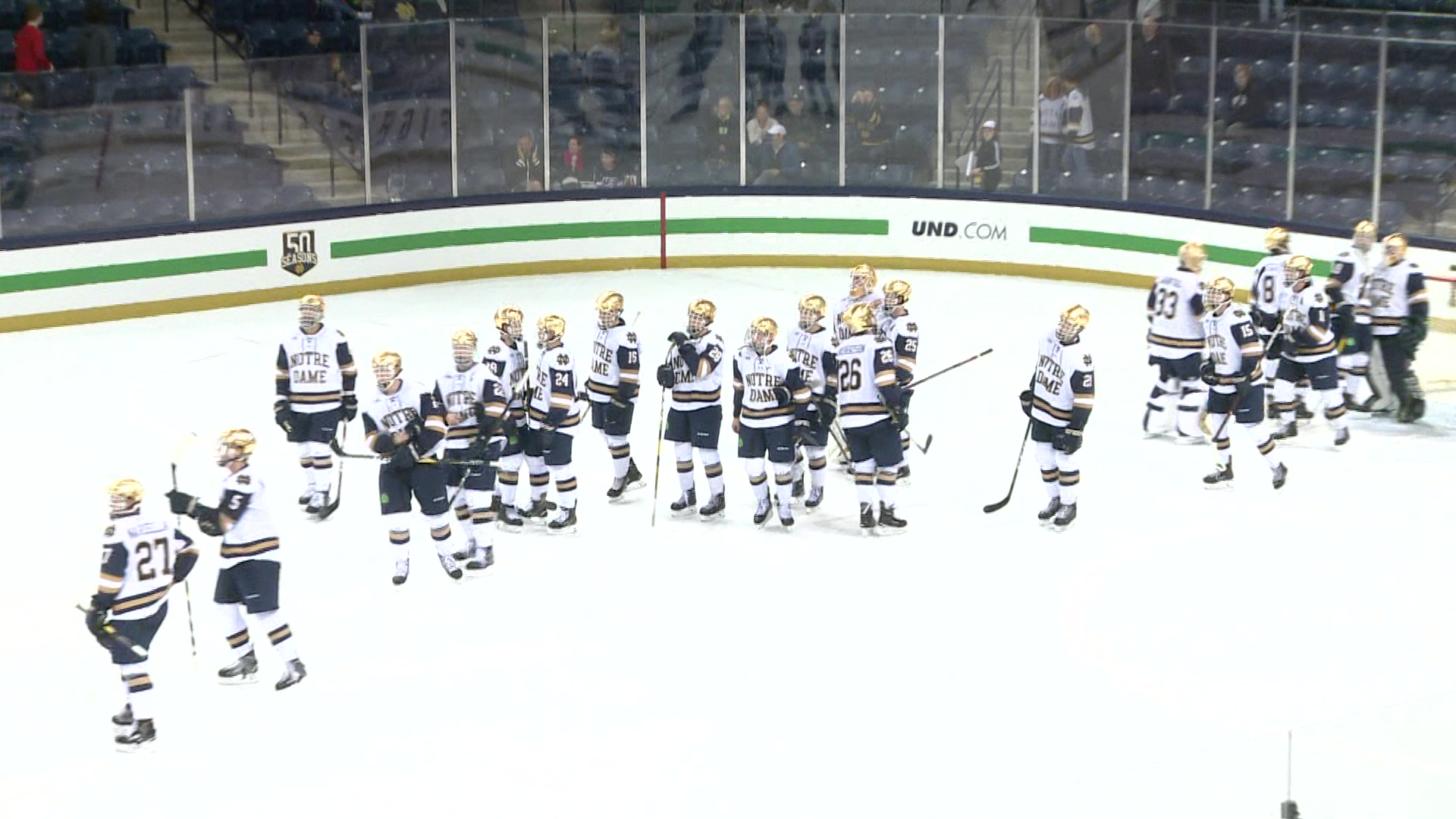 irish excited to be back on the ice