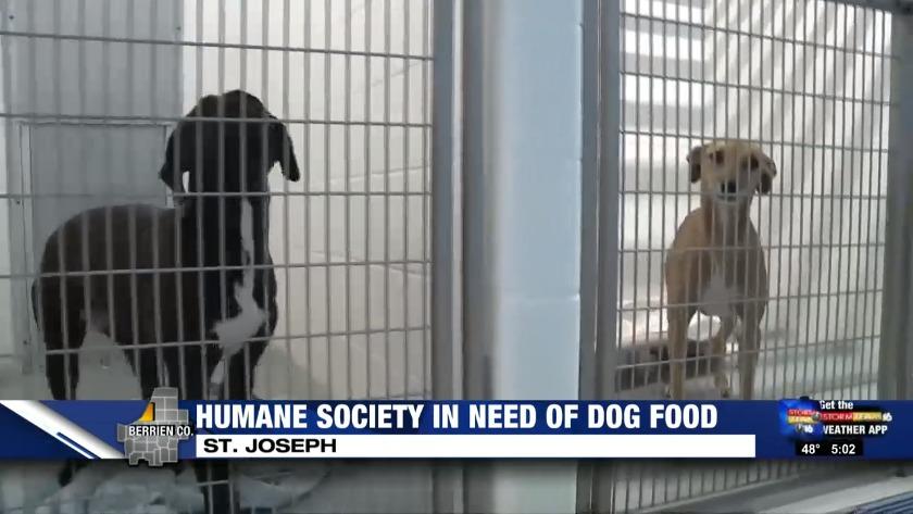 Southwest Michigan Humane Society Needs Dog Food