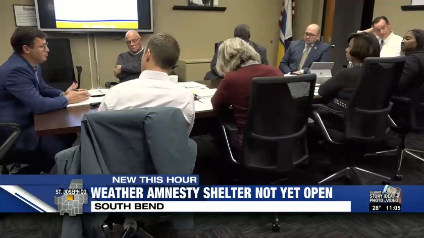Weather Amnesty Shelter Still Not Open Council Member To Take Action