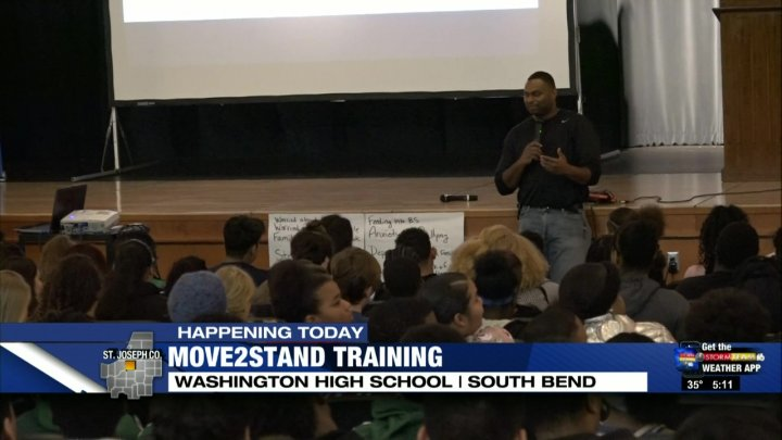 South Bend Student Athletes Complete Anti Bullying Training