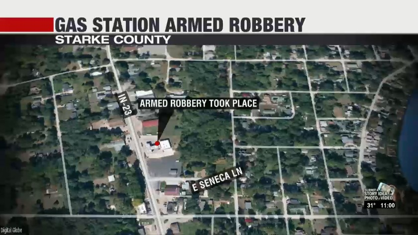 Authorities Searching For Armed Robbery Suspects In Starke County