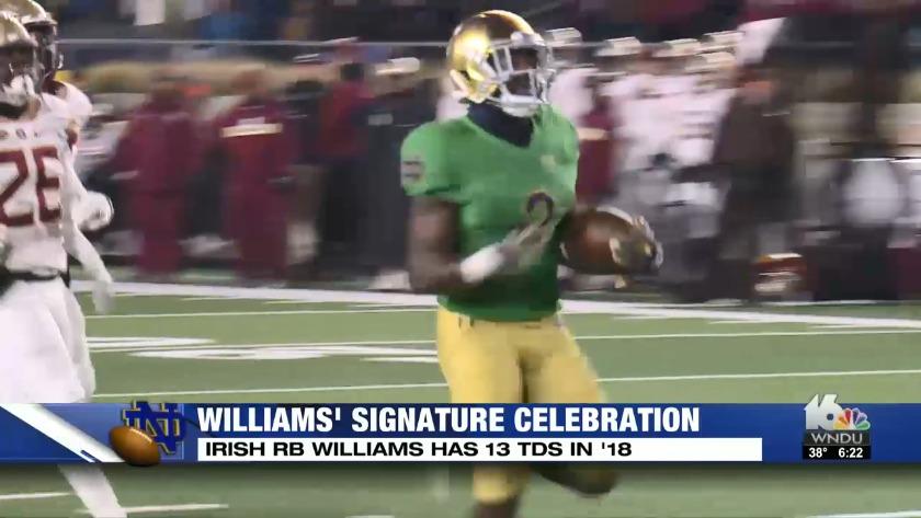 williams signature celebration