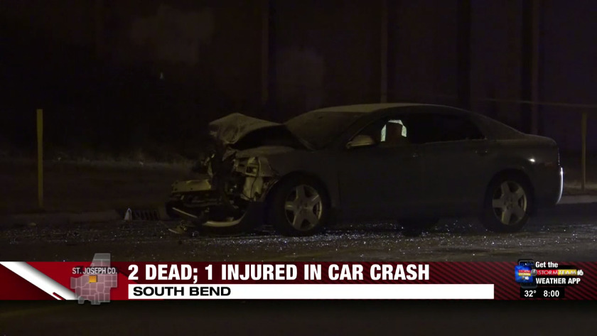 2 Killed 1 Injured In South Bend Car Crash