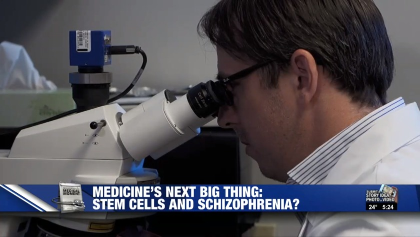 Medicine's next big thing? Stem cells and schizophrenia