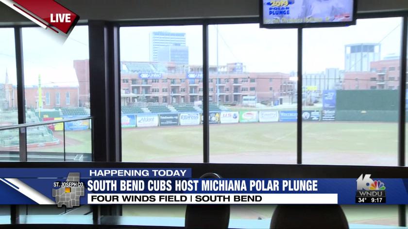 lowest price 1b200 c656c South Bend Cubs host Michiana Polar Plunge (Pt 2)