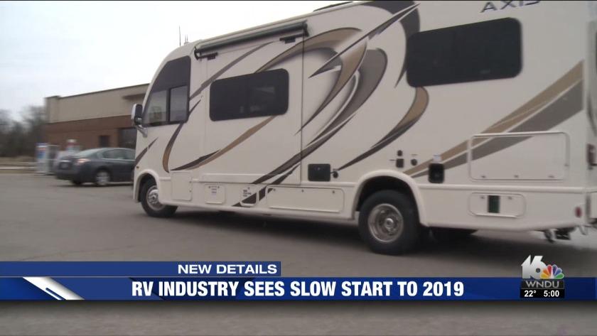RV shipments drop nearly 40 percent in January