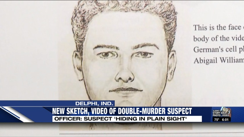 Police release new sketch, video of suspect in Delphi murders