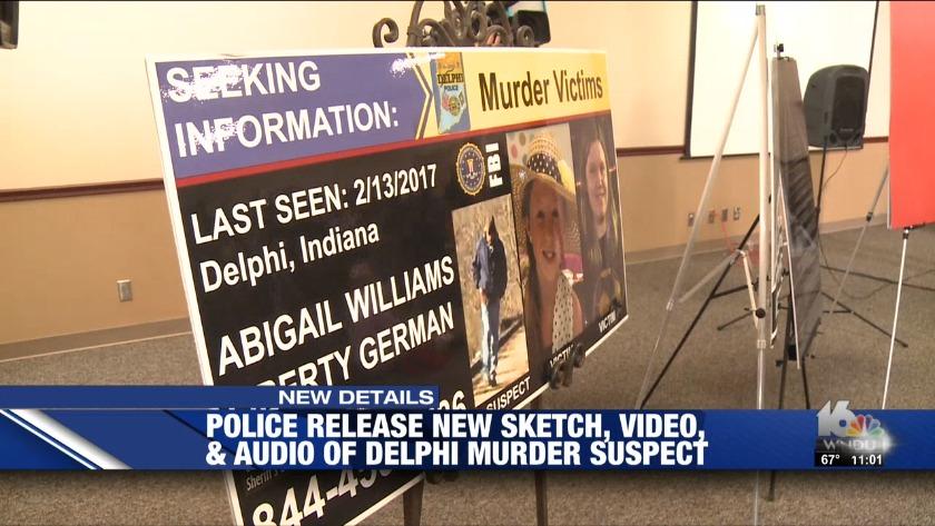 Police release new sketch, video of suspect in Delphi murders
