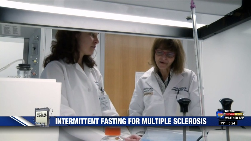 Intermittent fasting for multiple sclerosis