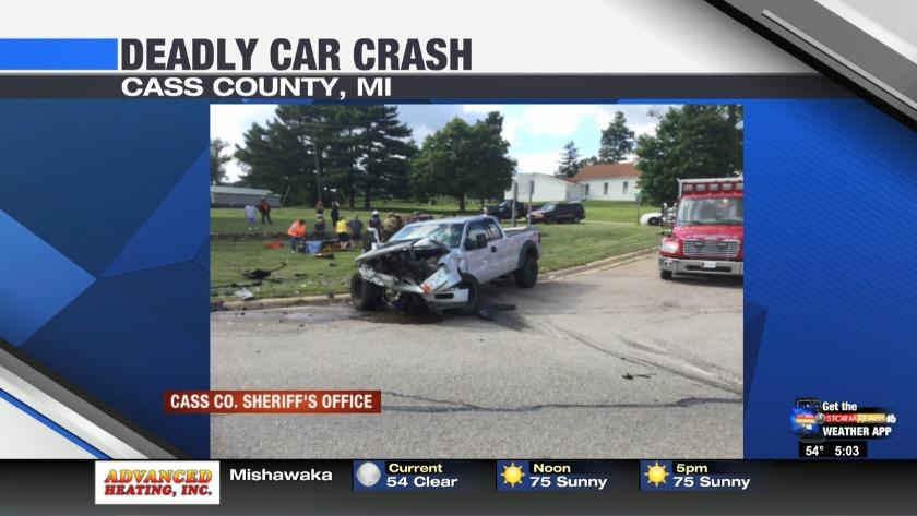 Cass County crash kills one woman