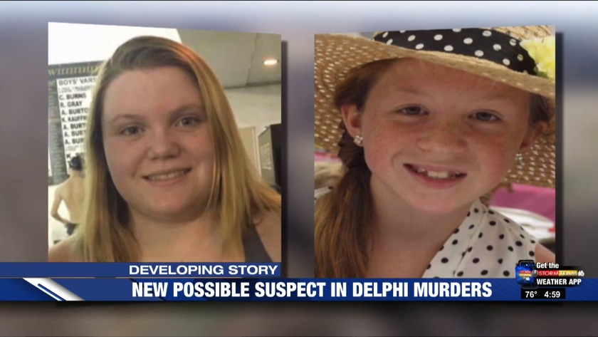 Sexual assault suspect could be connected to Delphi teen girls' murders