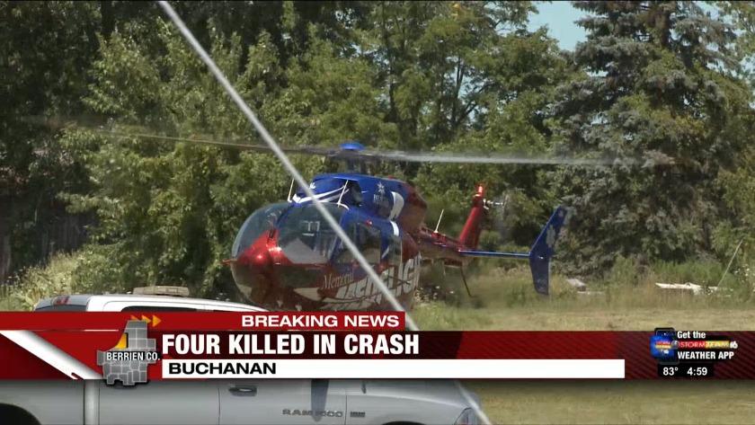 UPDATE: Driver named in Buchanan crash that killed 4
