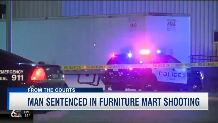 Man Sentenced In Furniture Store Shooting