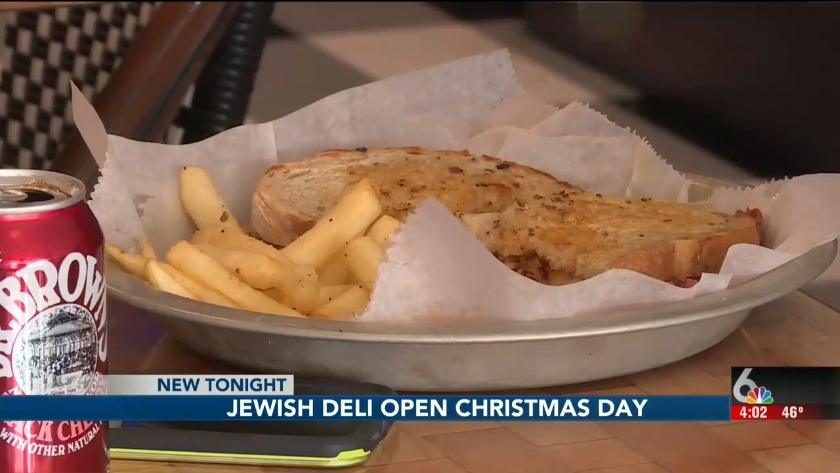 Fast Food Open On Christmas.Deli Opens Doors For Christmas Day