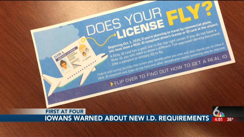 iowa drivers license required documents