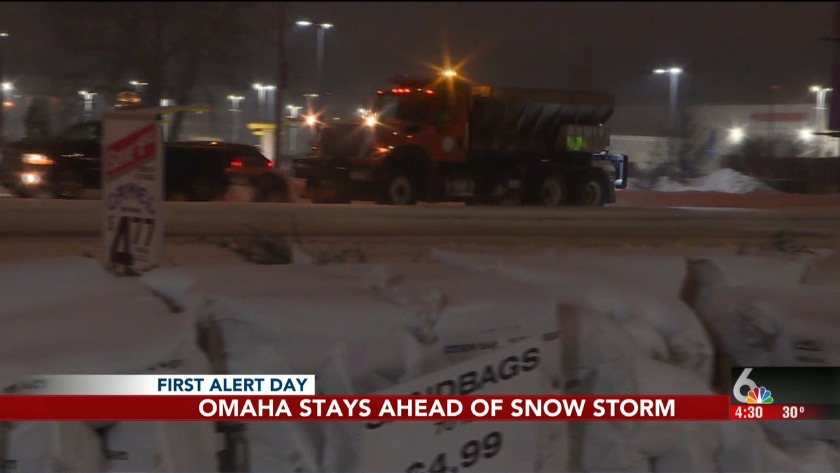 The metro wakes up to another round of snow