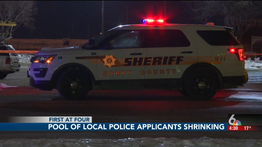 Local law enforcement having a hard time finding applicants