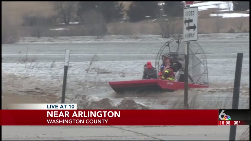 THURSDAY FLOOD UPDATES: Firefighters rescued by helicopter