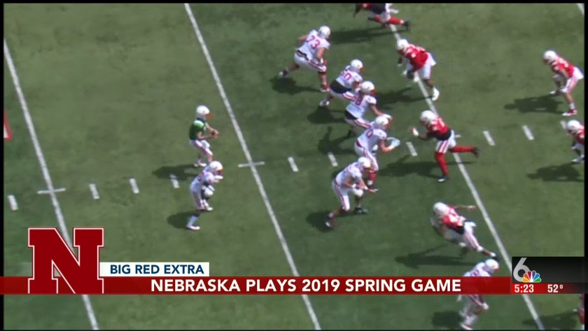 Red beats White, fans win at Huskers Spring Game