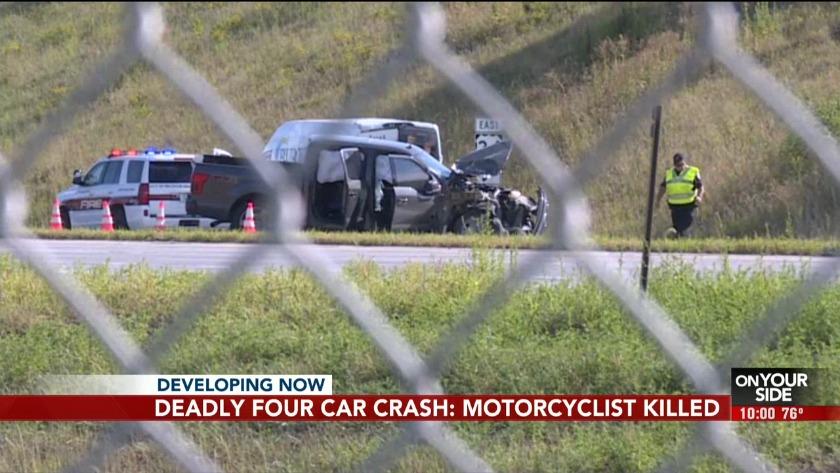 Authorities identify motorcyclist killed in Highway 75 crash