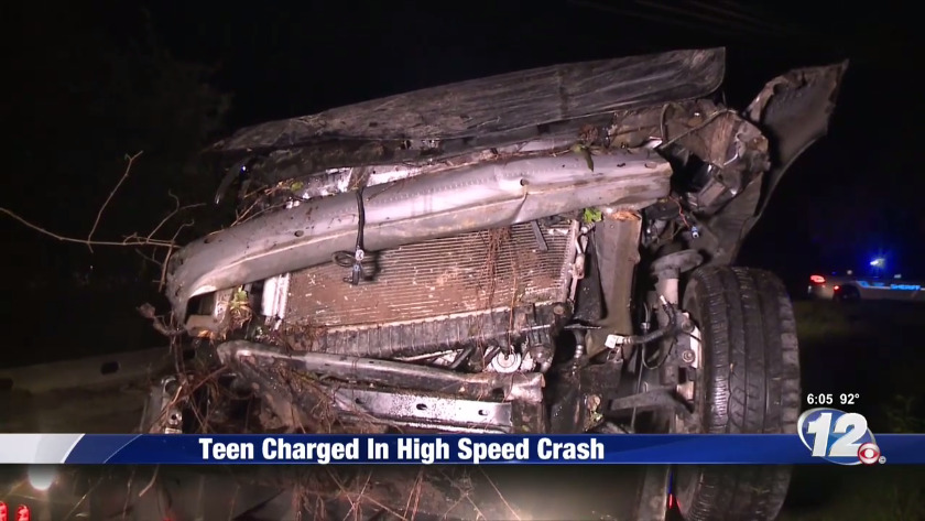 NEWS 12 EXCLUSIVE| Teen who crashed car while speeding over