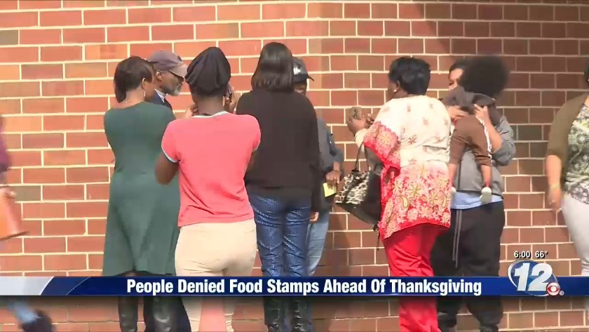 Golden Harvest issues food to families, DFCS to reopen after
