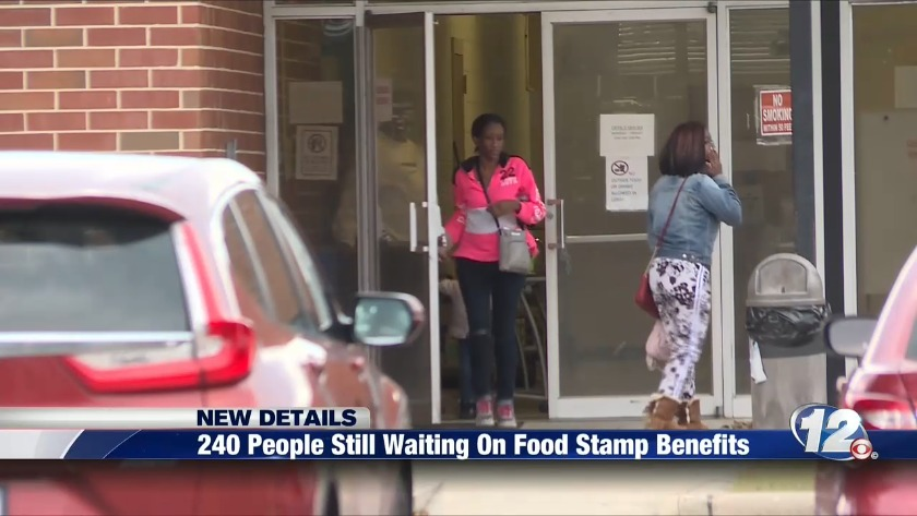 240 People Still Waiting On Food Stamp Benefits