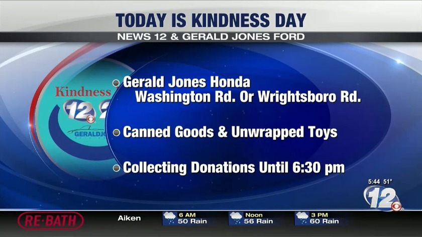 Gerald Jones Ford >> News 12 Gerald Jones Ford Kindness Day Friday