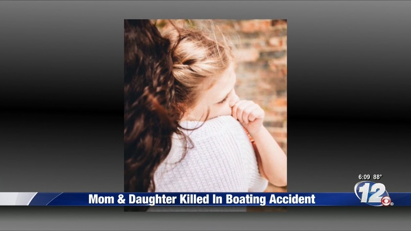 Mother, 5-year-old daughter from Augusta killed in Alabama boat crash