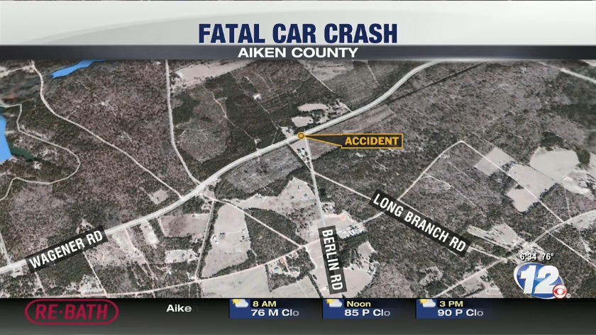 Man involved in deadly crash in Aiken County identified