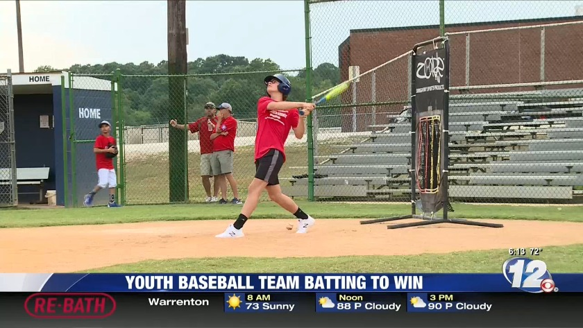 Local youth baseball team is batting their way to the World