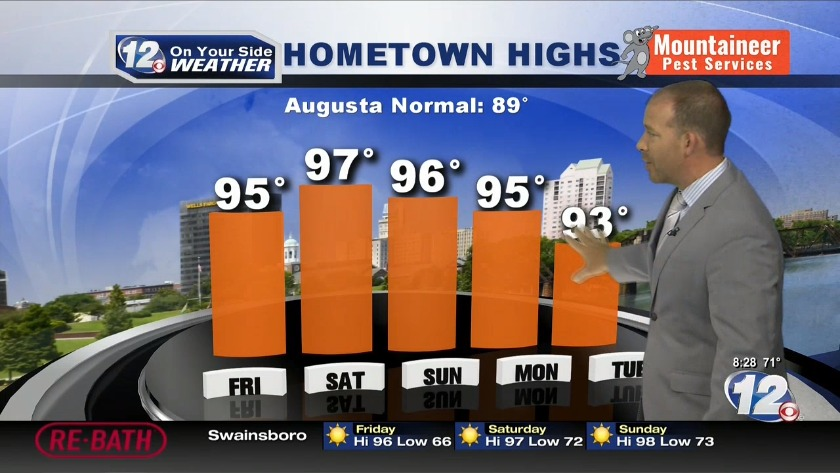 WRDW | Augusta, Georgia | CSRA | Local Forecast, Live