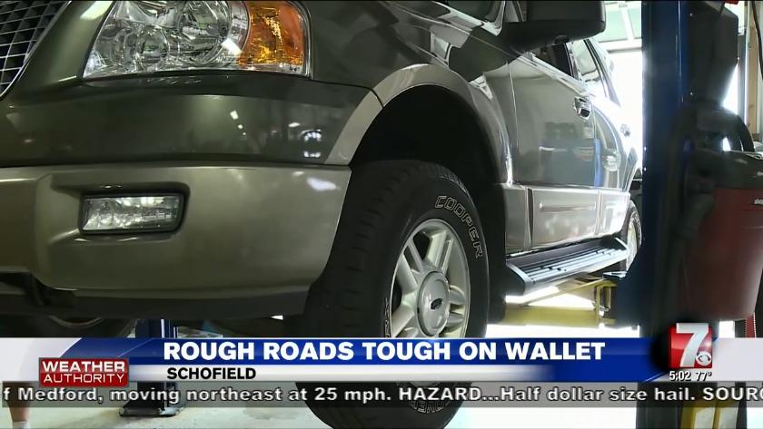 Report: Poor road conditions cost Wisconsin drivers $637