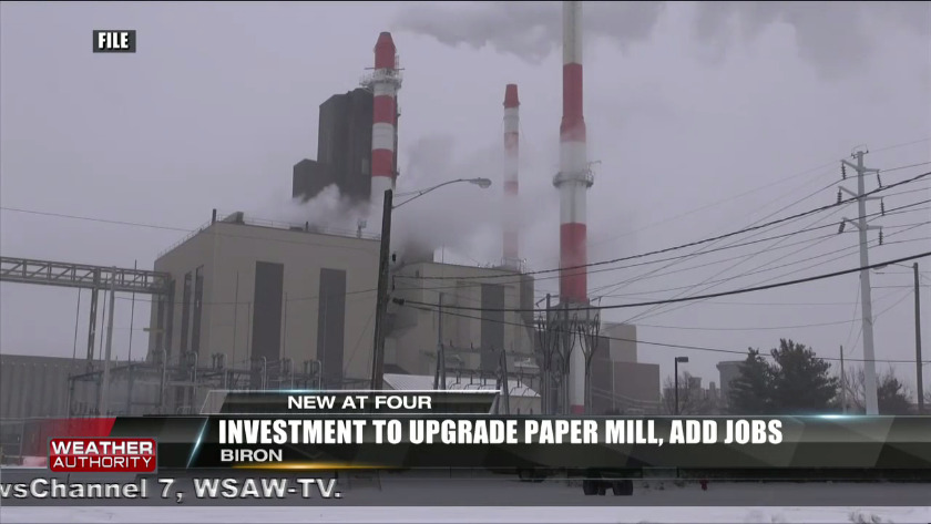Investment to upgrade Biron paper mill, add jobs