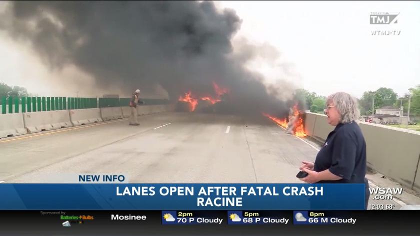 Sheriff releases cause of fatal Racine County semi crash