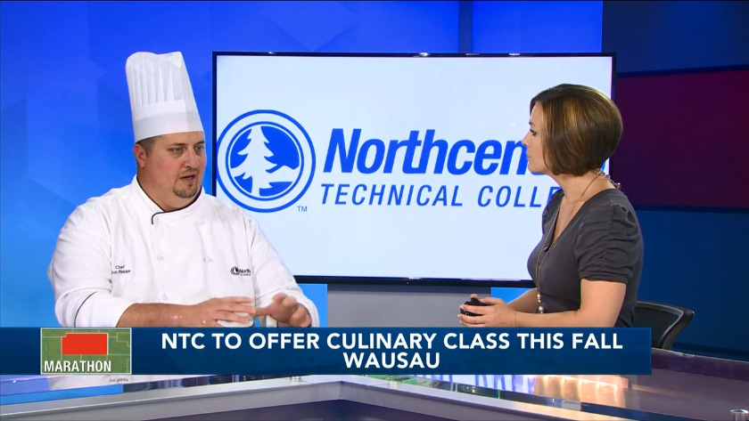 Culinary program at Northcentral Technical College inspires