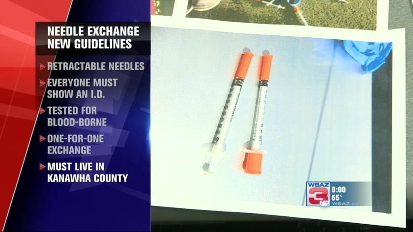 UPDATE | Health officials move focus off needle exchange