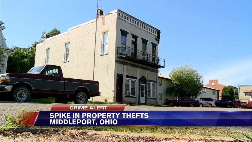 Middleport Ohio Residents Warned About Surge In Recent Property Crimes