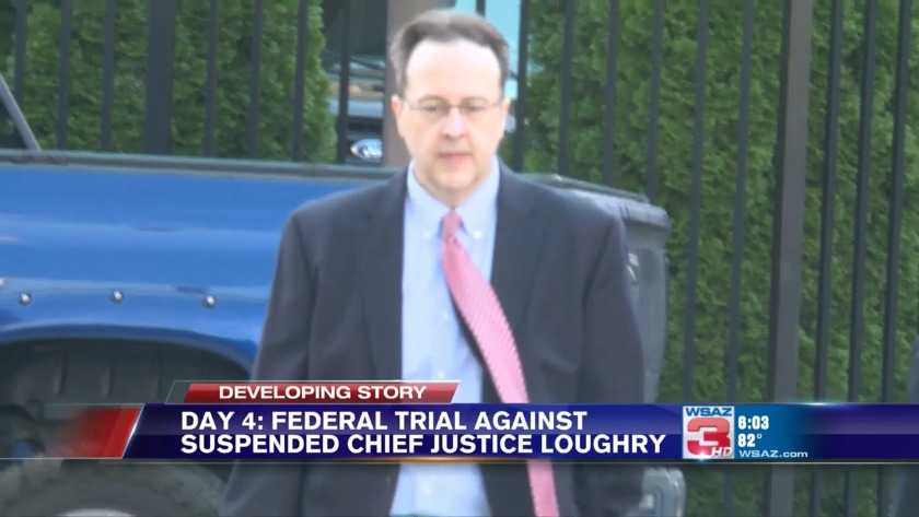 UPDATE | Former W Va  Supreme Court justice Loughry reports to prison