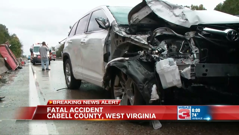 UPDATE: Name released of man killed in 9-vehicle crash on I-64